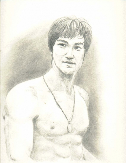 Bruce Lee par drunkenmonkey